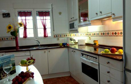 cocina casa rural segovia