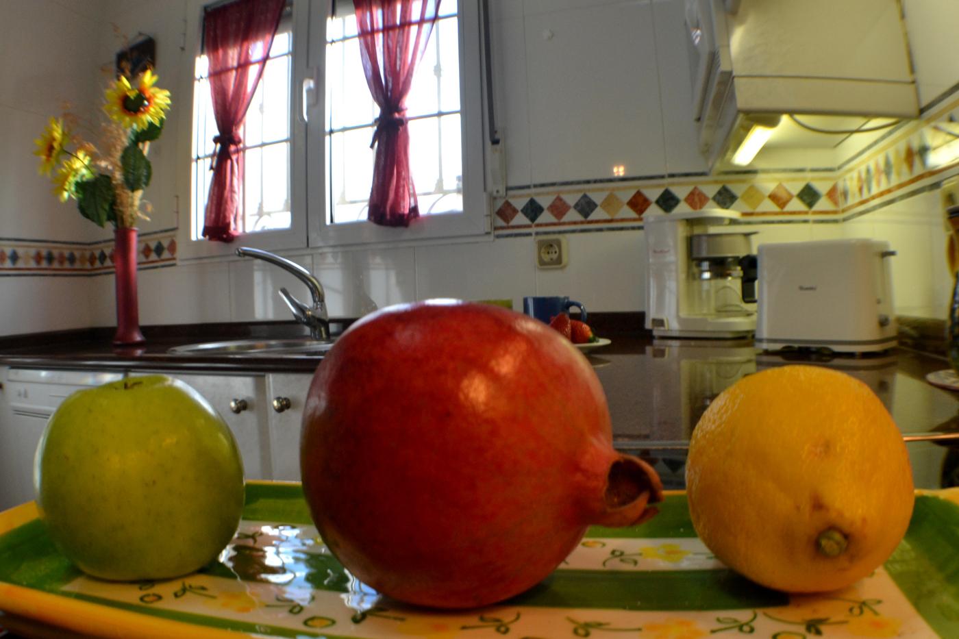 cocina casa rural y vacaciones