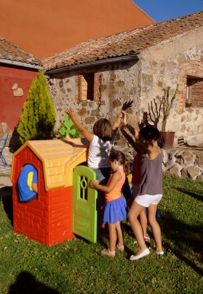 jardín para niños