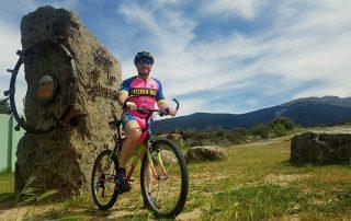 casa rural con rutas en bici