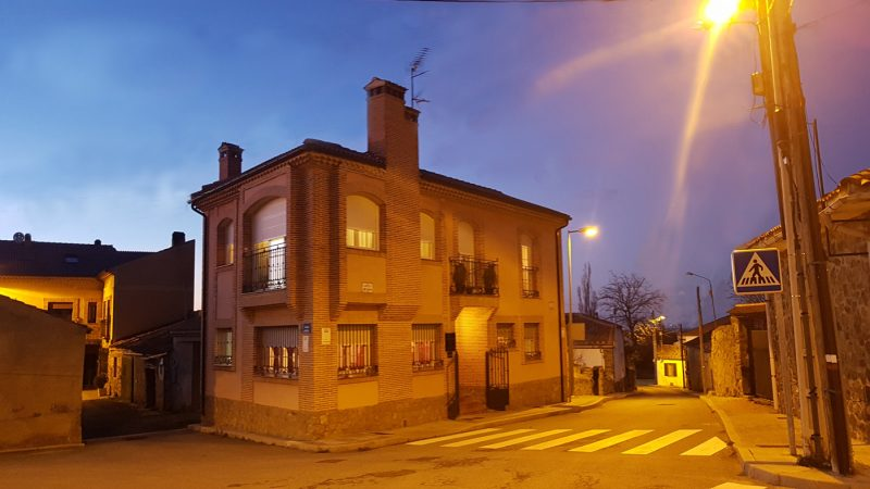 casa rural fachada