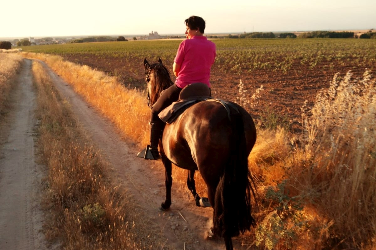 rutas a caballo niños