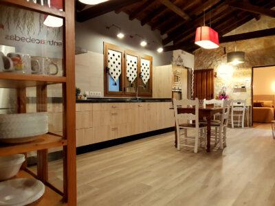 Cocina abierta Casa Rural