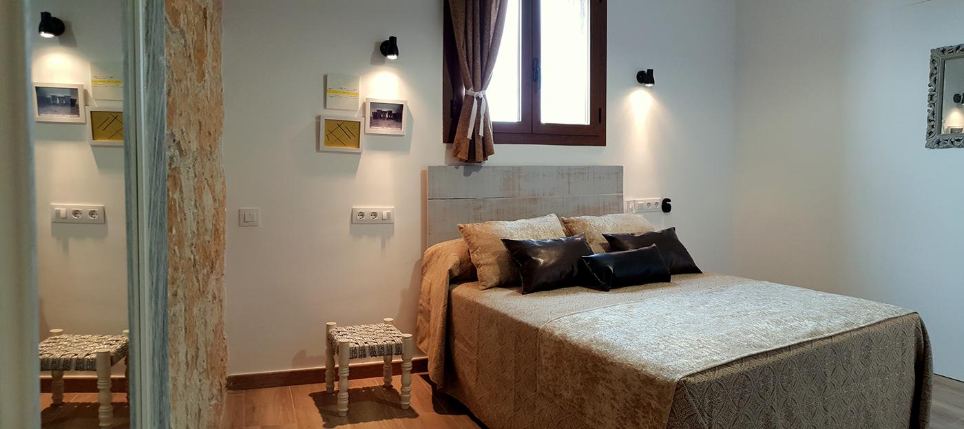 Dormitorio Vivir con TV