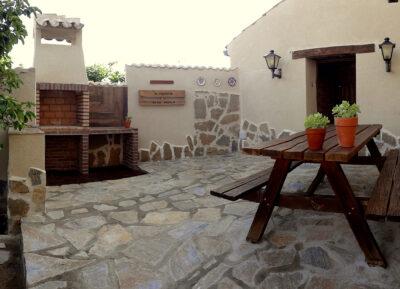 Terraza, patio y jardín