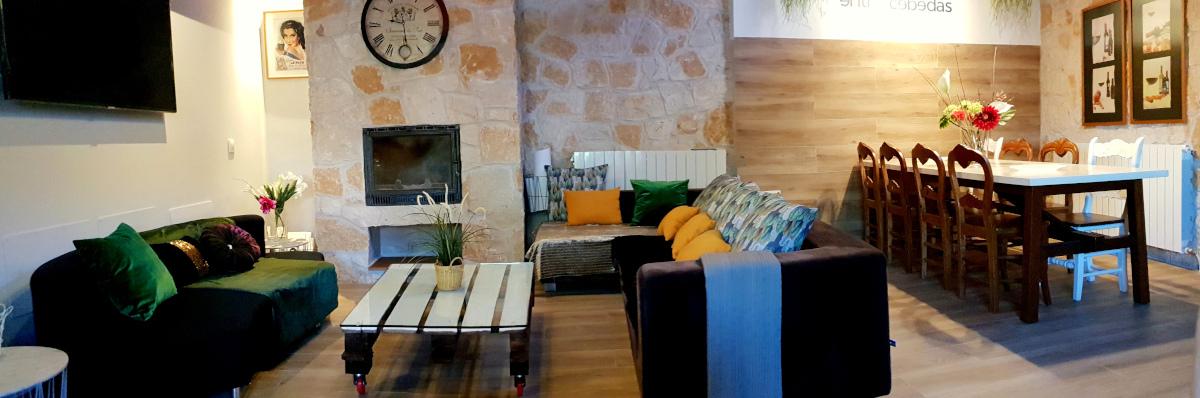 Casa Rural con salón amplio